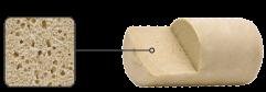 densidad tapon sintetico