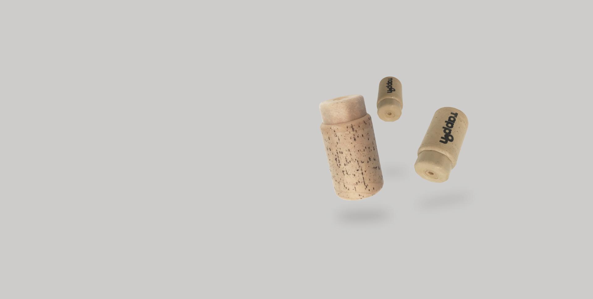 Tapones sintéticos para vino